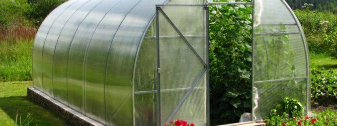 Какая выгода теплиц из сотового поликарбоната