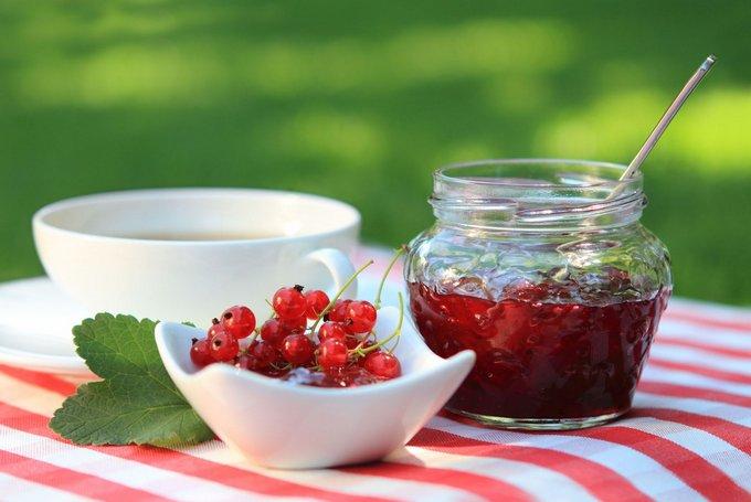 Заготовки из ягод красной смородины