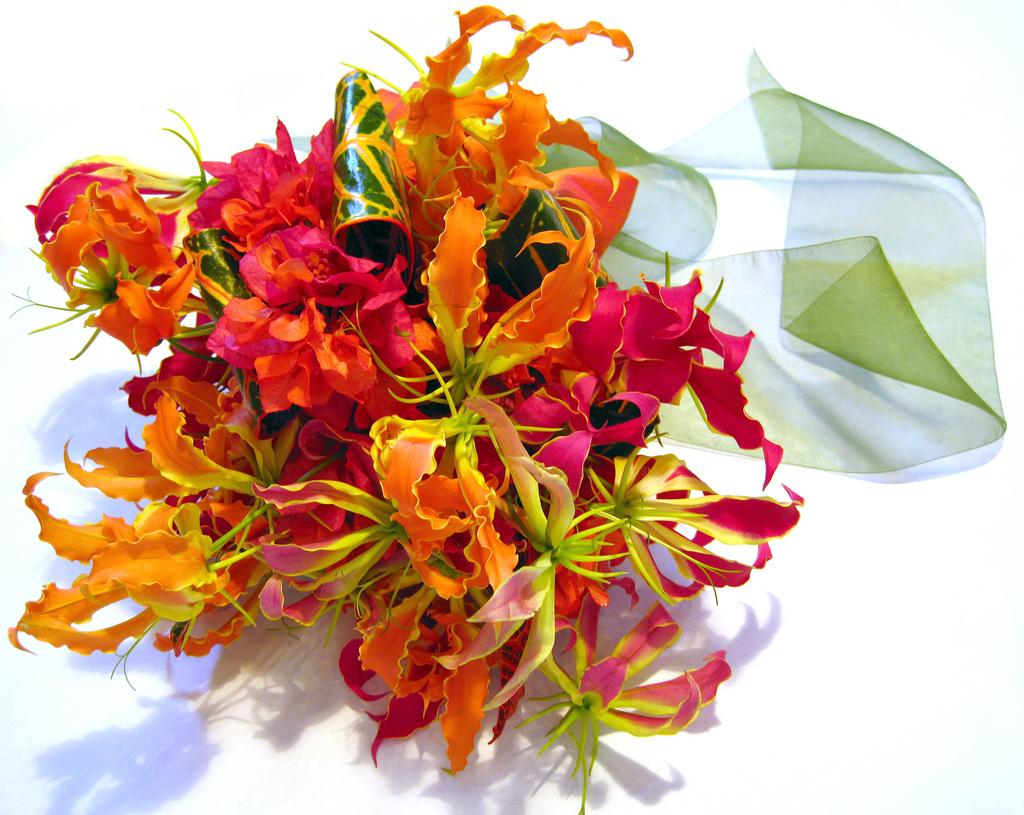Цветы из гофрированной бумаги пошаговый рецепт 105