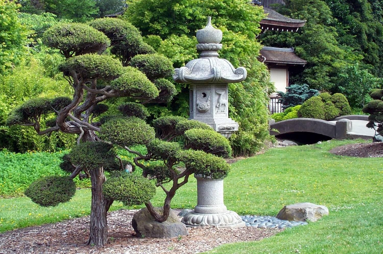 Японский фонарь для сада своими руками фото 952