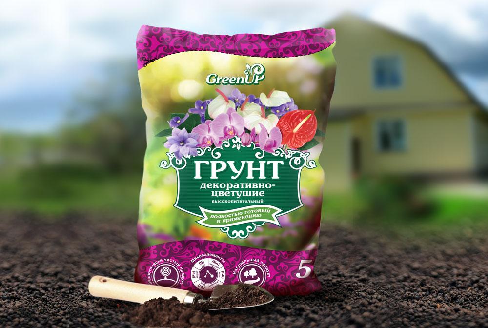грунт для цветущих
