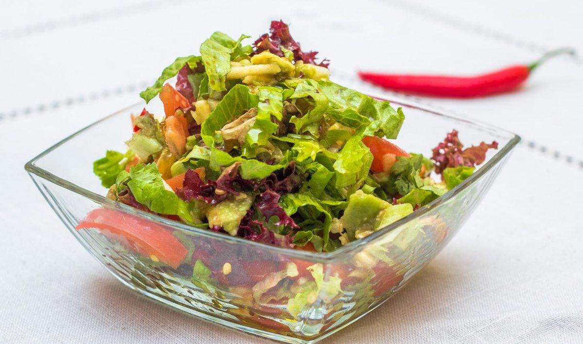 как приготовить салат за 5 минут