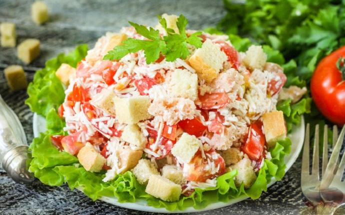 10 салатов за 5 минут - быстро, вкусно, сытно