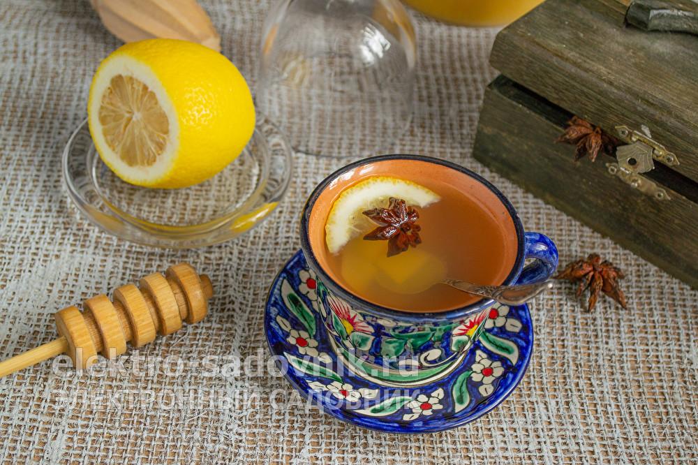 напиток имбирь с медом