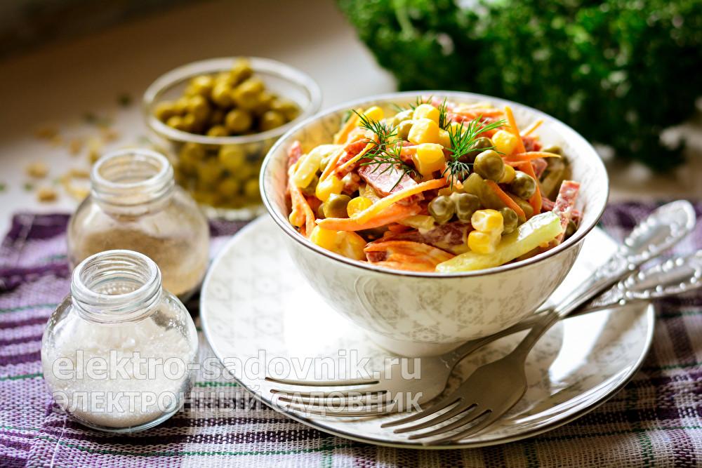 салат который не нужно варить