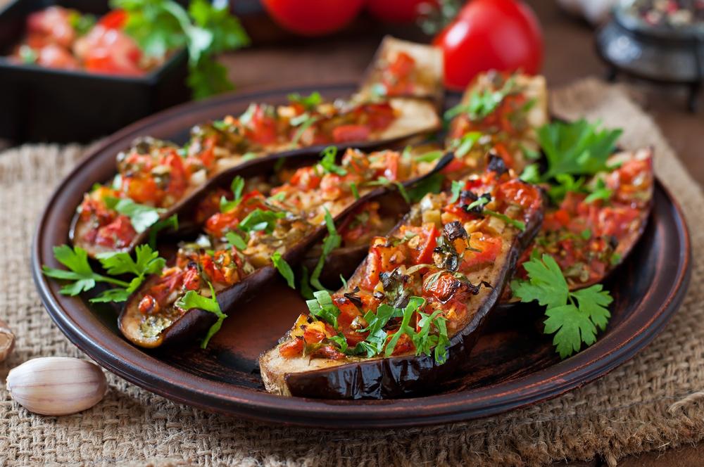 Блюда из баклажанов рецепты с фото