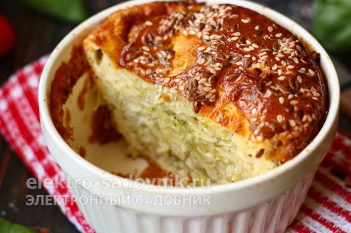 капустный пирог в духовке на кефире