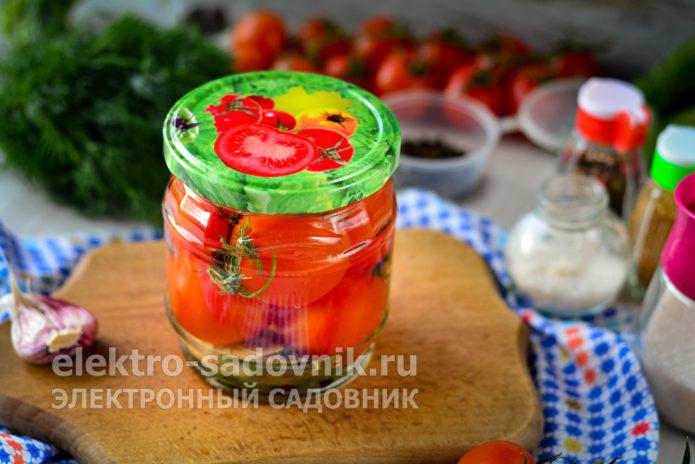 помидоры черри без стерилизации
