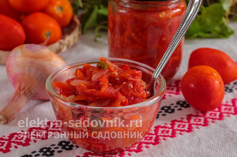 острый томатный соус Чемергес