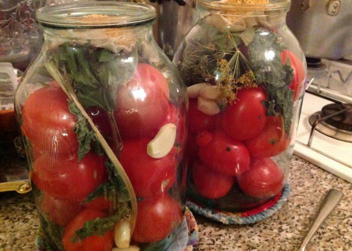 рецепт бочковых помидор