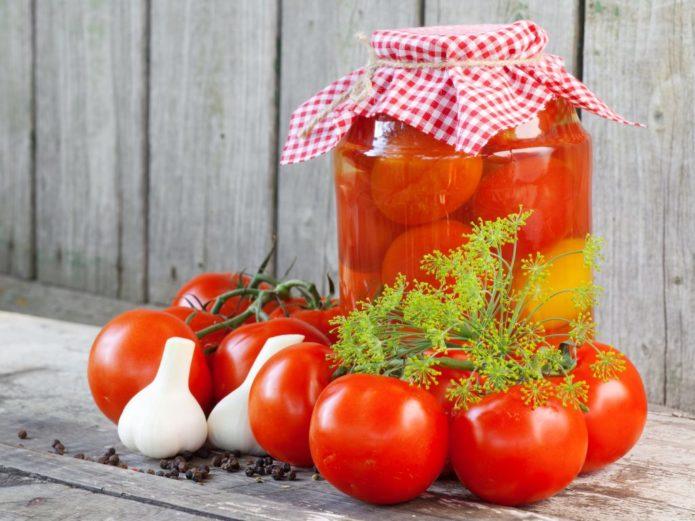 помидоры без закрутки