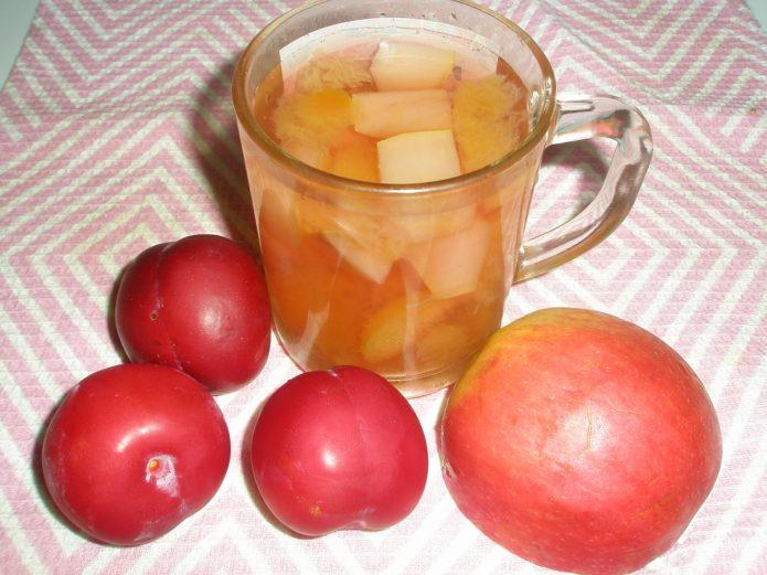 Какие ягоды и фрукты сочетаются в компотах Мультифрукт