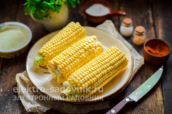 початки кукурузы поломать