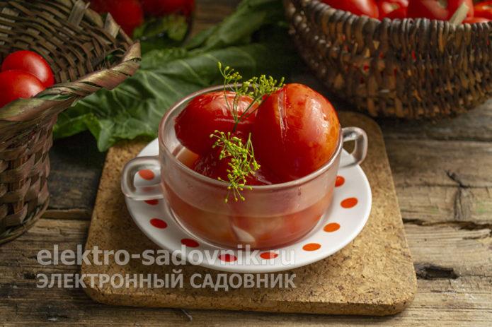 помидоры под капроновую крышку