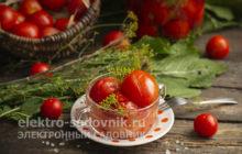 помидоры с аспирином на 3 литра под капроновую крышку