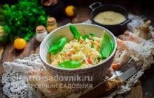 легкий и вкусный салат из крабовых палочек