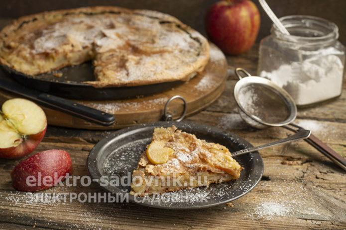 яблочный пирог Невидимый