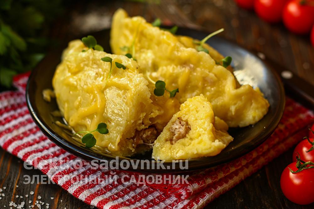 сочные Колдуны из картофеля и фарша