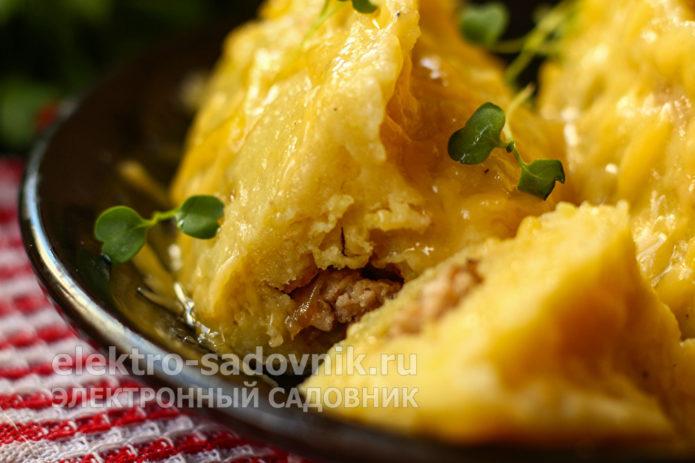 колдуны из картофеля и фарша