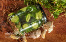 маринад для огурцов без стерилизаци на 1 литр