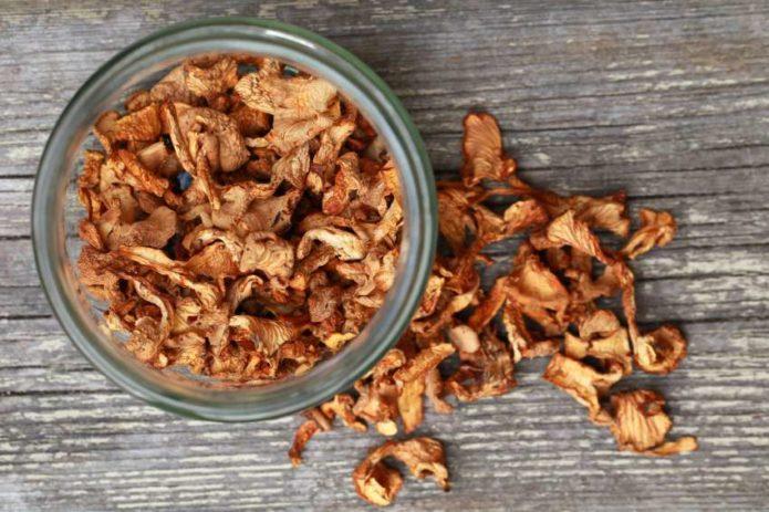 советы по хранению грибов