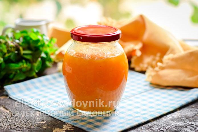 луковое варенье с цитрусовым соком