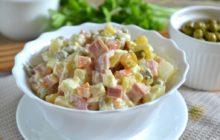 """Классический салат """"Оливье"""" - рецепты с фото, очень вкусные"""