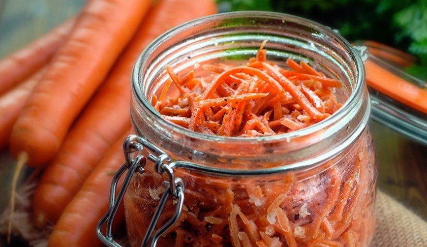 Морковь по-корейски на зиму в банках - рецепты очень вкусные