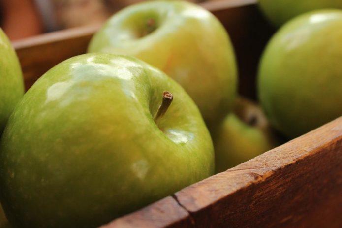 способы хранения свежих яблок