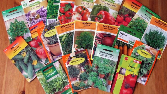 купленные онлайн семена