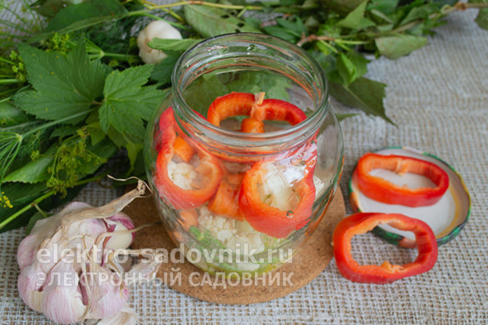колечки болгарского перца