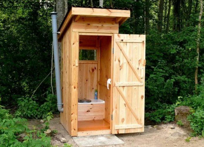 Дачный туалет